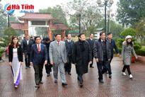 Chủ tịch nước Trương Tấn Sang chúc Tết nhân dân Hà Tĩnh