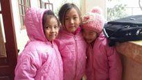 Áo ấm cho trẻ em vùng cao