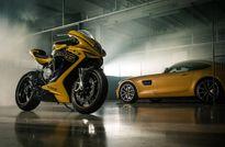 Môtô MV Agusta sẽ được bán tại showroom Mercedes