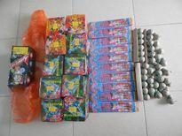 Hải quan Thanh Thủy (Hà Giang) bắt giữ 18kg pháo nổ
