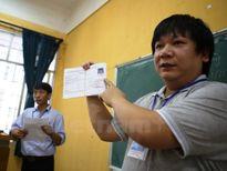 Thi THPT quốc gia 2016: Tất cả các thí sinh đều thi tại tỉnh nhà