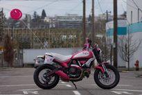 """""""Chết cười"""" với Ducati Scrambler bản độ Hello Kitty"""