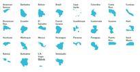 Đại dịch Zika đã lan ra những quốc gia nào?