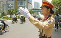 Hà Nội: Tăng cường lực lượng điều tiết giao thông trong dịp tết Nguyên Đán
