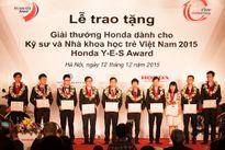Giải thưởng Honda Y-E-S – Tiền đề cho nền khoa học công nghệ trẻ tại Việt Nam.