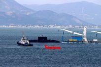 Tàu ngầm 186 – Đà Nẵng đã vào cảng Lữ đoàn tàu ngầm 189