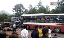 Quảng Nam: Xe tải tông trực diện xe khách, 2 người thương vong