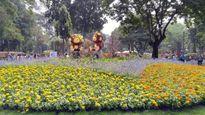 Những hình ảnh đẹp tại Hội hoa xuân lớn nhất TP.HCM chụp từ smartphone