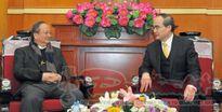 Chủ tịch Nguyễn Thiện Nhân tiếp Chủ tịch Hội đồng Giám mục Việt Nam