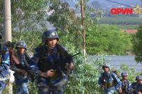 Hình ảnh oai hùng Hải quân Đánh bộ Việt Nam