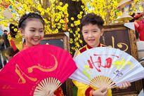 Mẫu nhí Ben Lee - Bảo An diện áo dài đón Xuân