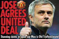 Báo Anh đồng loạt đưa tin: Man Utd bắt đầu đàm phán với Mourinho
