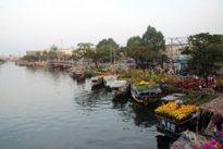 Chợ hoa đêm Quảng Bá tấp nập kẻ bán người mua