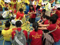 Gần 2.000 trẻ em các mái ấm, nhà mở tham gia sân chơi ngày tết