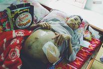 3 đứa trẻ sống dặt dẹo bên người cha nghèo bị ung thư giai đoạn cuối