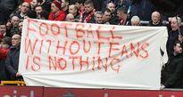 Phản đối việc tăng giá vé, CĐV bỏ về sớm, Liverpool trả giá trước Sunderland