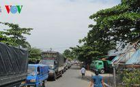 Phà Đình Khao trên quốc lộ 57 tăng ca phục vụ hành khách 24/24