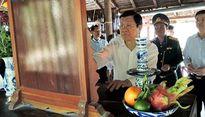Chủ tịch nước chúc Tết tại Tây Ninh