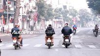 Mức phạt cho 4 lỗi vi phạm giao thông thường gặp trong dịp Tết