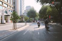 Một Sài Gòn không ồn ã rất khác lạ trong ngày đầu năm mới