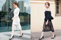 Phong cách thời trang ngày càng chất của Hoàng Thùy Linh