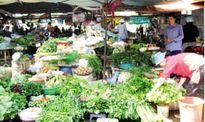 Giá rau xanh tại các chợ dân sinh tăng cao vào đầu năm mới