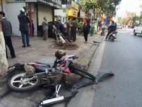 """""""Xe điên"""" gây tai nạn khiến 2 người bị thương nặng"""