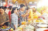 Thị trường Tết: Hàng hóa phong phú, mãi lực tăng