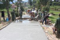 Vùng đất nghèo thắm tình quân dân