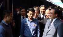 Phó Thủ tướng, Bí thư Thành ủy Hoàng Trung Hải kiểm tra điều kiện phục vụ nhân dân đi lại
