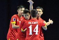 Sít sao hạ Đài Loan, Việt Nam khởi đầu thuận lợi ở giải futsal châu Á