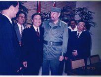 """""""Người cha"""" đặc biệt của nhà ngoại giao mệnh danh """"con nuôi của Fidel"""""""