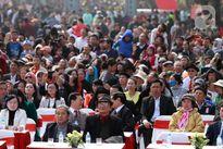Ngàn người tưng bừng tham dự hội gò Đống Đa trong ngày đầu xuân