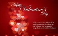 'Xâm chiếm' trái tim nửa kia với lời chúc Valentine hài hước