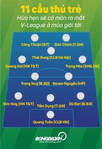 Làn sóng trẻ V-League 2016: Tươi sáng và đáng chờ đợi