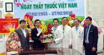 Lãnh đạo Báo Công an TP Đà Nẵng thăm các bệnh viện nhân Ngày Thầy thuốc Việt Nam