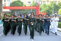 Tiêu chuẩn đầu vào các trường quân sự