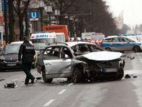 Nổ xe nghi do bom ở trung tâm Berlin, một người thiệt mạng