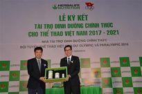 Herbalife tài trợ dinh dưỡng cho đoàn thể thao Việt Nam