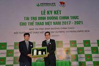 Herbalife tài trợ dinh dưỡng cho đoàn thể thao VN dự Olympic và Paralympic 2016