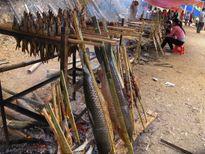 Lên sông Đà ăn cá nướng
