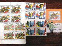 Nhiều Việt kiều quan tâm tới tem về sự kiện 30/4/1975