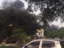 Hưng Yên: Chập điện gây cháy lớn tại Khu công nghiệp Phố Nối A