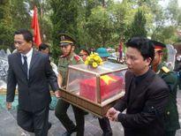 Xúc động lễ đón 19 hài cốt liệt sỹ hy sinh tại Lào về với đất mẹ
