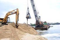 Gia hạn xuất khẩu cát nhiễm mặn tận thu