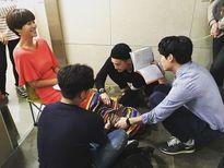 Sao Hàn 12/6: Tae Yeon gác chân quyến rũ, Hani bị chế tóc như chổi xể