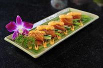 Làm cá hồi cuộn sốt mentai ngon như nhà hàng Nhật