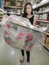 Chiêm ngưỡng nhan sắc của hot girl bán đồ ăn vặt Thái Lan