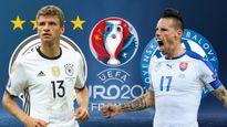 ĐT Đức vs Slovakia: 'Xe tăng' lên nòng