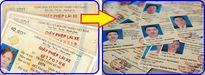 Hà Nội: Từ 4/7, đổi giấy phép lái xe nhựa tại cơ quan